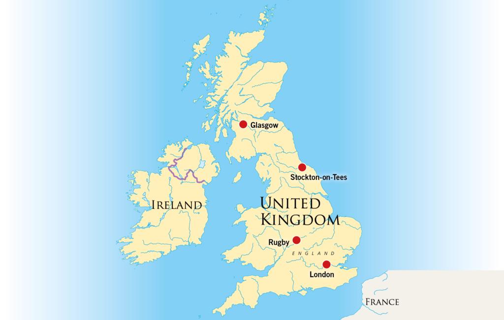 Karte Uk.Grail Movement In The Uk Ireland Grailmovement Net